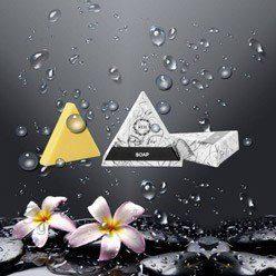 Gama Future Line sapun triunghiular